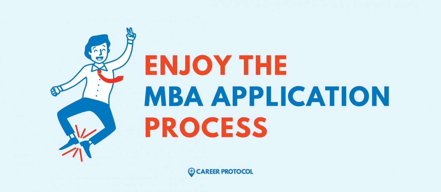MBA application advice