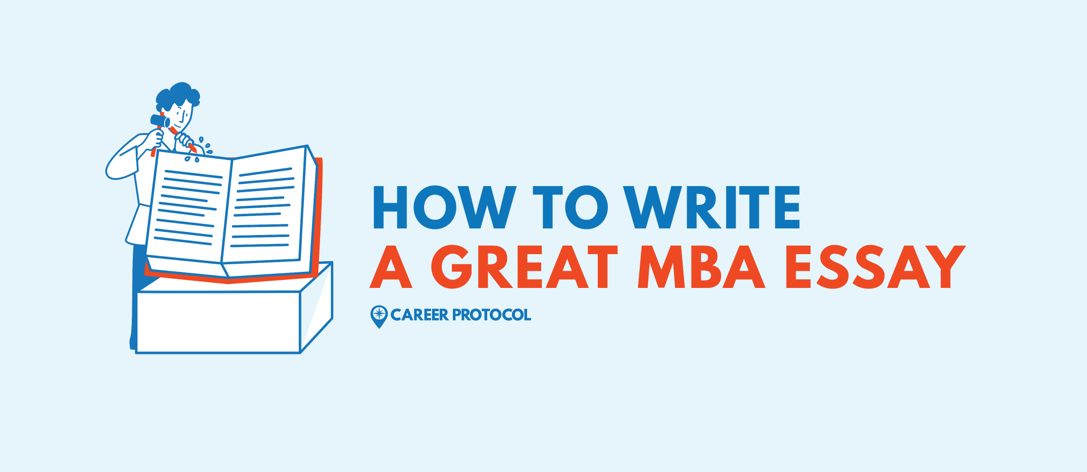 Write a great MBA essay
