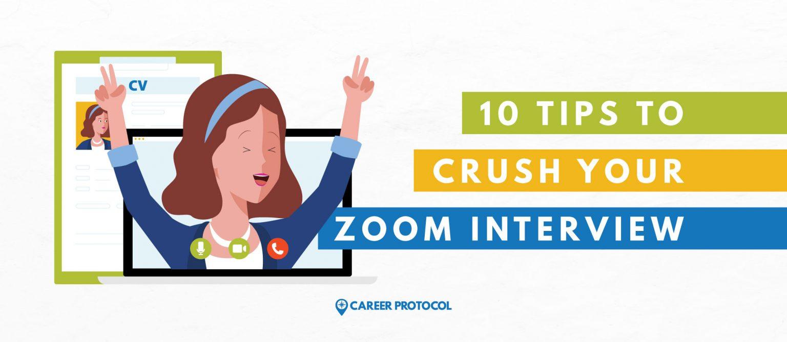 Zoom-Interview